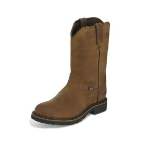 Justin Original Work Boots Wyoming Waterproof Work