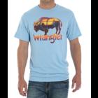 Wrangler Blue Buffalo Sunset Logo Tee