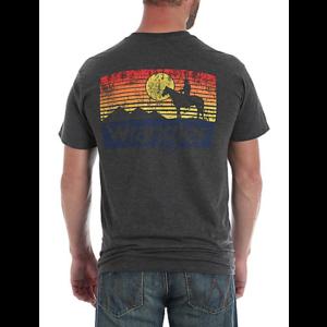 Wrangler Cowboy Sunset Shutter Back Logo Tee
