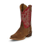 Justin Boots Bent Rail Navigator Brown R/O Leather