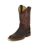 Justin Boots Bent Rail Bender Whiskey/Brick Red