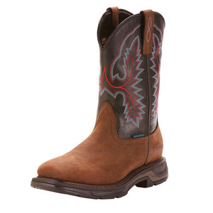 Ariat Workhog XT WST/H20 Distressed Brown/Black
