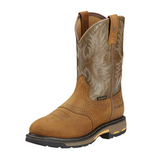 Ariat Workhog WP Aged Bark/Army Green