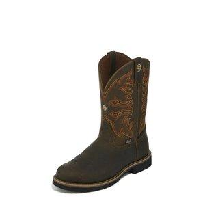 Justin Boots George Strait Arkansas Brown
