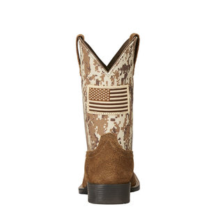 Ariat Youth Patriot Square Toe