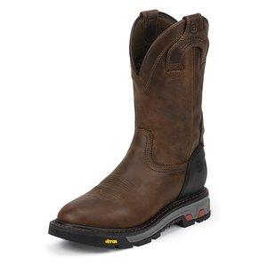 Justin Original Work Boots Wyoming Waterproof Steel Toe