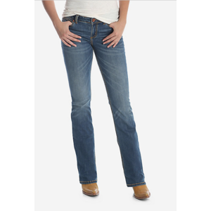 Wrangler Mae Mid-Rise Bootcut Jean