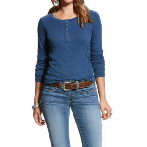 Ariat REAL Button Henley
