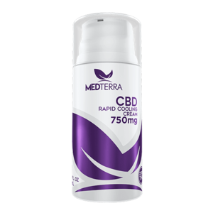 MedTerra CBD Topical Cooling Cream - 750mg