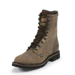 Justin Original Work Boots Wyoming Lace Waterproof Steel Toe