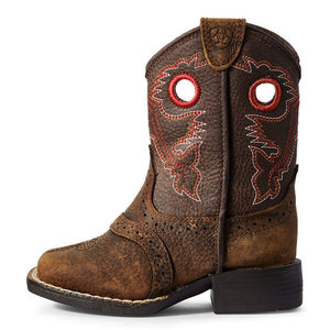 Ariat Lil' Stompers Heritage Roughstock Boot