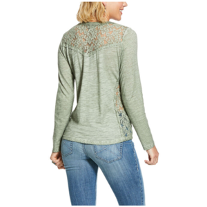 Ariat Barbara Lace Panelled Long Sleeve Top