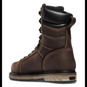 """Danner Steel Yard 8"""" Brown 400G Insulated Steel Toe"""