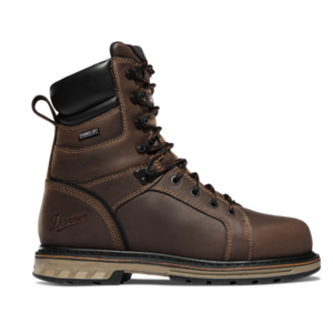 "Danner Steel Yard 8"" Brown Steel Toe"