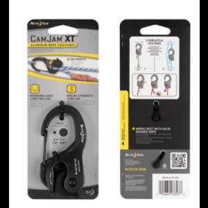 NITE IZE Cam Jam XT Large Aluminum/ Black Rope Tightener