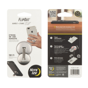 NITE IZE FlipOut Handle + Stand 2 - SS