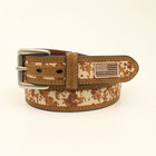 Ariat Men's Digital Camo USA Flag Belt