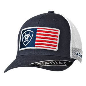 Ariat RFit USA Flag Navy