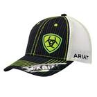 Ariat Pinstripe Lime Shield Cap