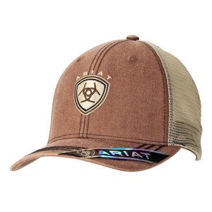 Ariat Faded Logo Brown Cap