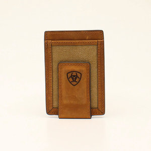 Ariat Canvas Double Stitch Rodeo Wallet