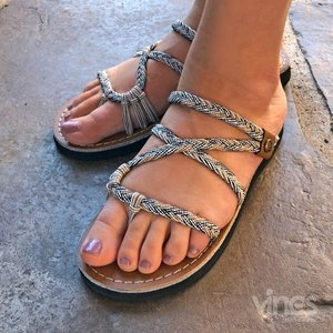Vines Slides Flat Sandal
