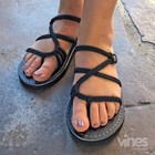 Vines Slides Flat Sandal