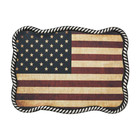 Nocona USA Flag Buckle