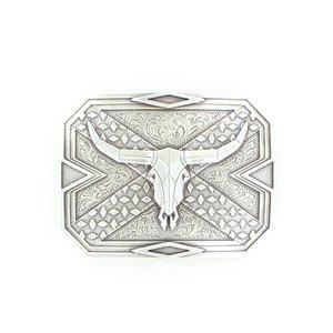 Nocona Diamond Plate Steer Buckle