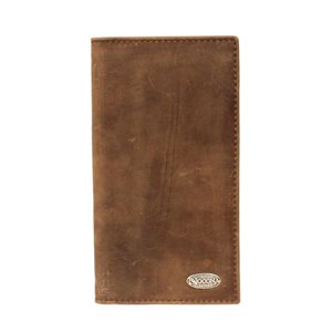 Nocona Brown Distressed Rodeo Wallet