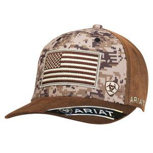 Ariat Digital Camo Flag Hat
