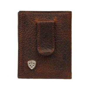 Ariat Shield Rowdy Bifold Clip Wallet
