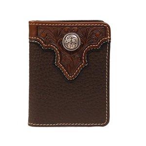 Ariat Brown Bifold Flipcase Wallet