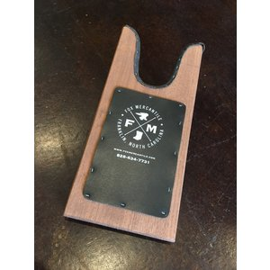 Fox Mercantile Heavy-Duty Fox Logo Stained Boot Jack