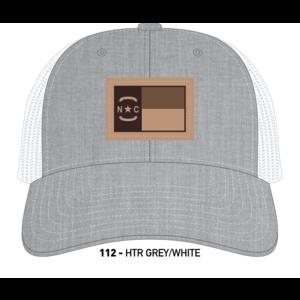 Richardson Hats NC Leather Patch Trucker Hat