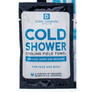 Duke Cannon Cold Shower - Cooling Field Towels