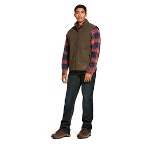 Ariat REBAR - Men's Stretch Canvas Softshell Vest