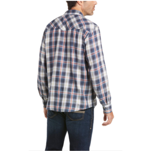 Ariat Men's Anderson Retro Fit Long Sleeve Snap