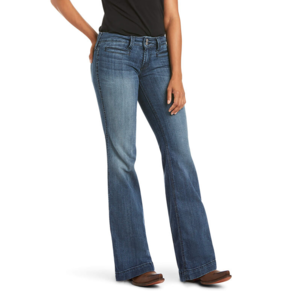 Ariat Ella Mid-Rise Wide-Leg Trouser