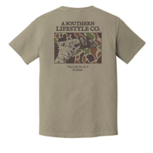 A Southern Lifestyle Co. Camo Dog T-Shirt