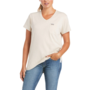 Ariat Wmn's CottonStrong V-Neck Tee