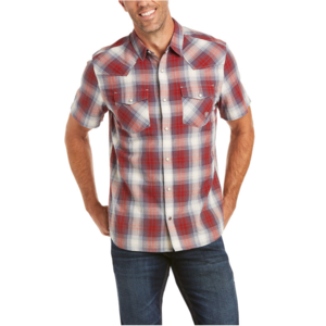 Ariat Men's Arroyo Retro Snap Short Sleeve