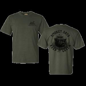 "A Southern Lifestyle Co. ""Keep It Green"" Smokey T-Shirt"