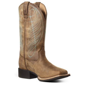 Ariat Women's Round Up Wide Square Toe H20