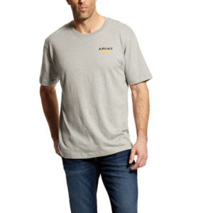 Ariat REBAR - CottonStrong Short Sleeve  Logo Tees
