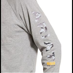 Ariat REBAR - CottonStrong Long Sleeve Logo Tees