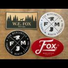 Fox Mercantile Fox Merc. Stickers (Multiple Designs)