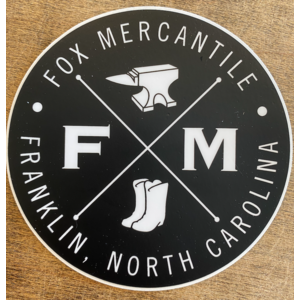 Fox Mercantile Fox Merc. Stickers