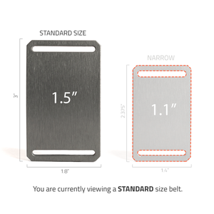 "Grip6 Conservation Series Standard (1.5"") Buckle"