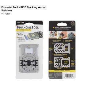 NITE IZE Financial Tool RFID Blocking Wallet